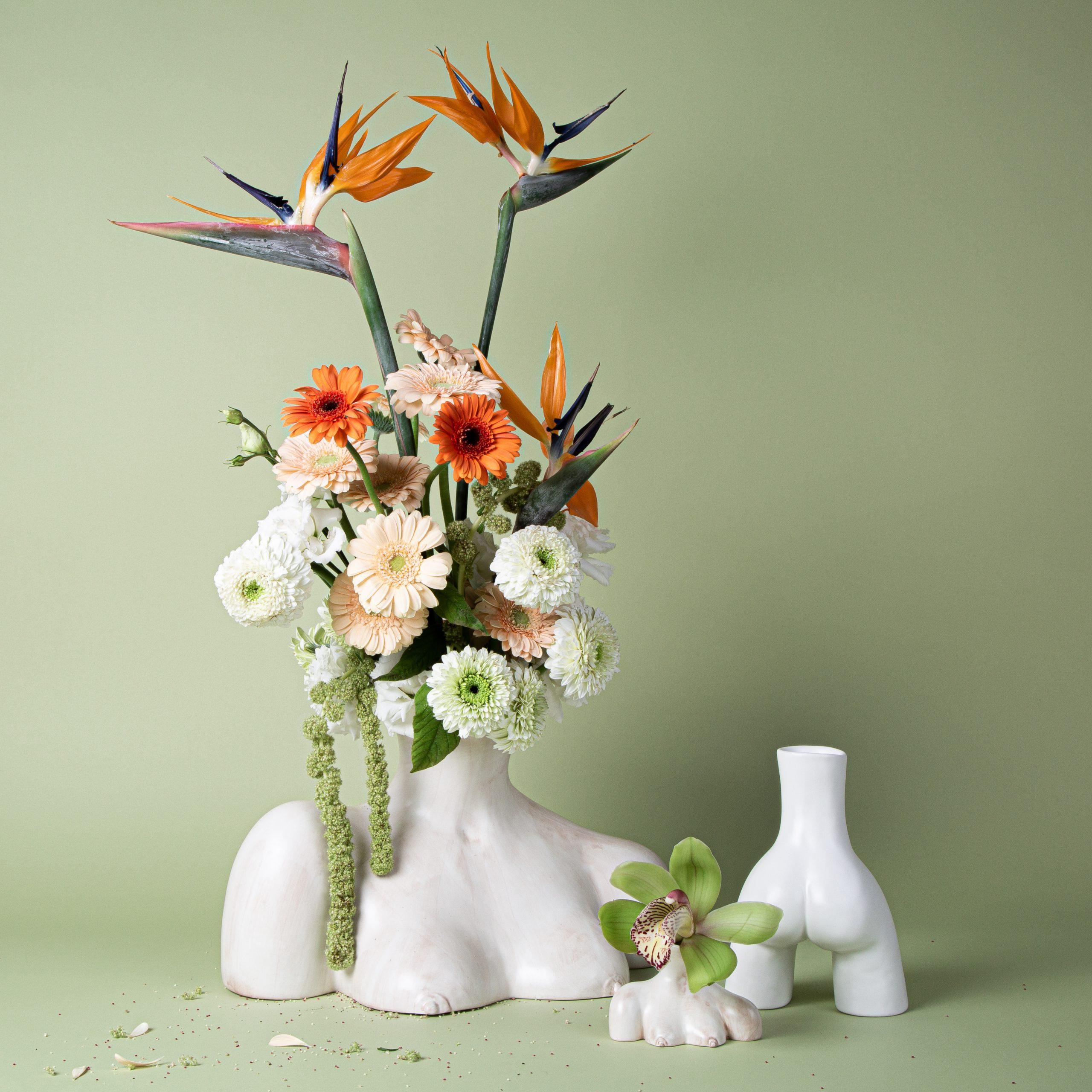 Breast Friend Vase – Marble – 5 copy